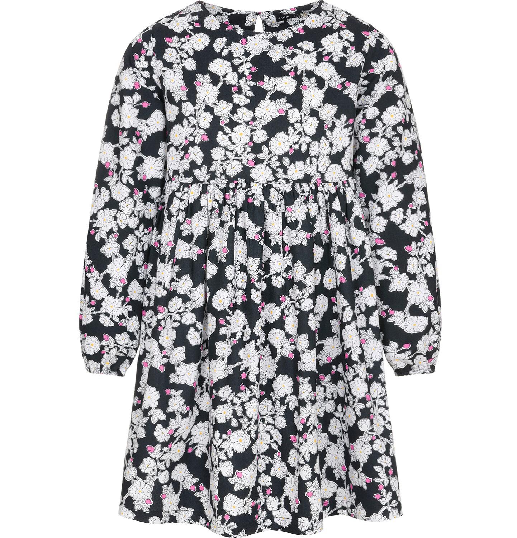 Endo - Sukienka z długim rękawem dla dziewczynki, deseń w kwiaty, 9-13 lat D92H508_1