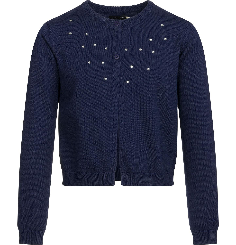 Endo - Sweter dla dziewczynki, rozpinany, granatowy, 9-13 lat D03B502_1