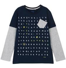 Endo - T-shirt z odcinanymi rękawami dla chłopca 3-8 lat C62G006_1