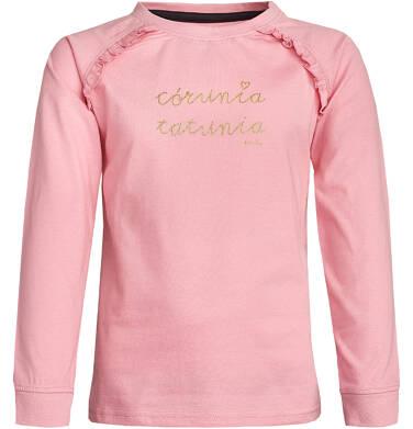 Endo - T-shirt z długim rękawem dla dziewczynki 9-13 lat D82G642_2