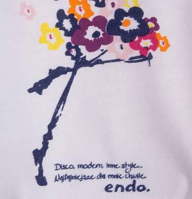 Endo - Sukienka z kieszeniami i troczkiem dla dziewczynki 9-13 lat D71H570_1