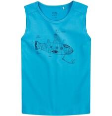 T-shirt bez rękawów dla chłopca 4-8 lat C71G139_1