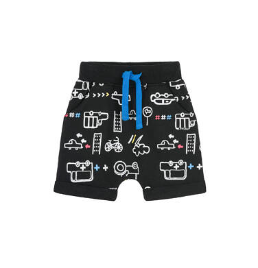 Krótkie spodenki dresowe dla dziecka 0-3 lata N91K047_1