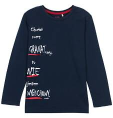Endo - T-shirt z długim rękawem dla chłopca 3-8 lat C62G008_1