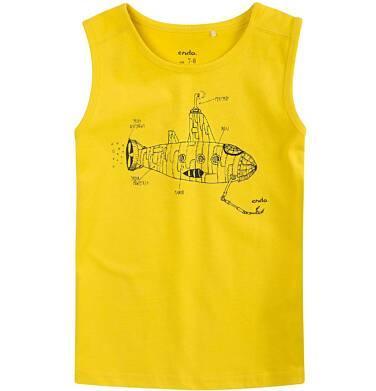 Endo - T-shirt bez rękawów dla chłopca 4-8 lat C71G139_2