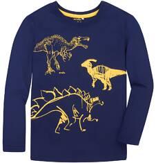 Endo - T-shirt z długim rękawem dla chłopca 3-8 lat C72G113_2