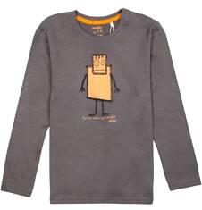 Endo - T-shirt z długim rękawem dla chłopca 9-13 lat C72G555_1