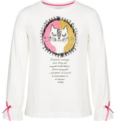 Endo - Bluzka z długim rękawem dla dziewczynki 9-13 lat D92G521_1