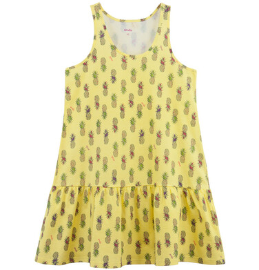 Endo - Rozszerzana sukienka damska z falbanką Y61H017_1