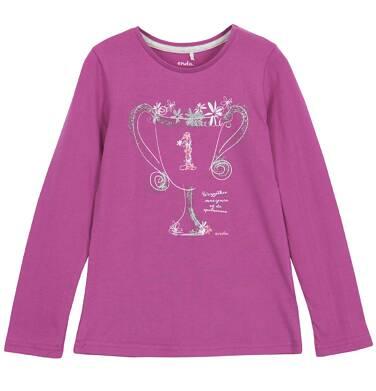 Endo - Bluzka z długim rękawem dla dziewczynki 3-8 lat D62G135_1