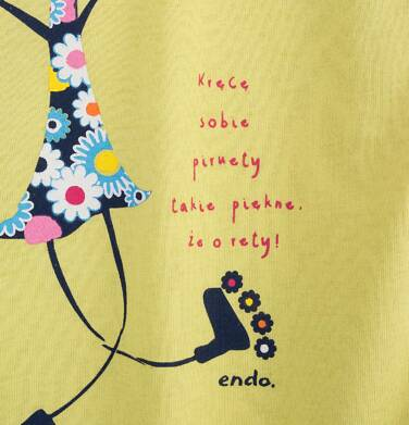 Endo - Sukienka trapezowa dla dziewczynki 9-13 lat D71H539_1