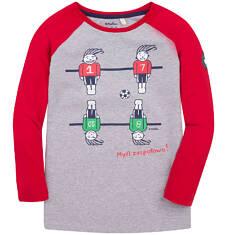 Endo - Koszulka z długim reglanowym rękawem dla chłopca 3-8 lat C72G012_1