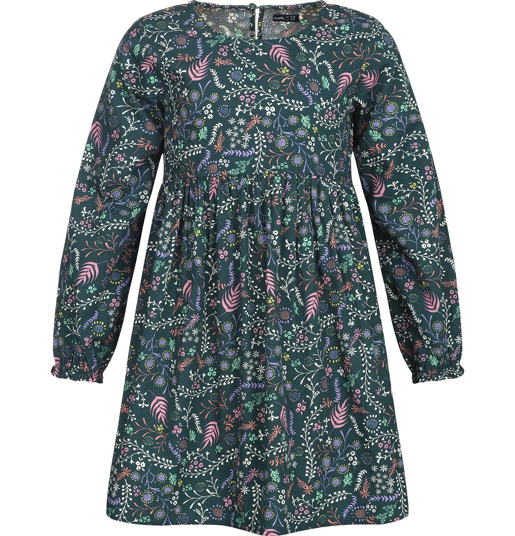 Endo - Sukienka z długim rękawem dla dziewczynki 3-8 lat D82H013_1