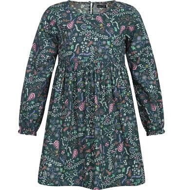 Sukienka z długim rękawem dla dziewczynki 3-8 lat D82H013_1