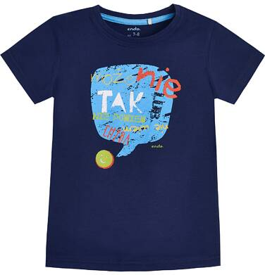 Endo - T-shirt z krótkim rękawem dla chłopca 9- 13 lat C81G508_1