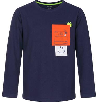 T-shirt z długim rękawem dla chłopca 9-13 lat C92G608_1