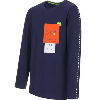 Endo - T-shirt z długim rękawem dla chłopca 9-13 lat C92G608_1,2