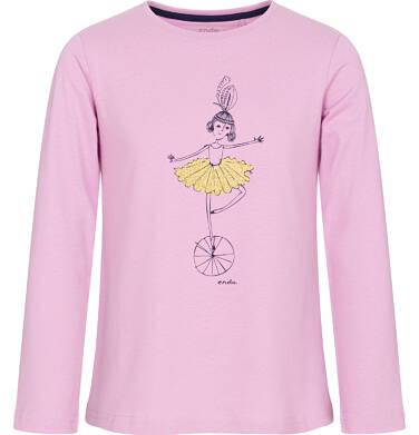 Endo - Bluzka z długim rękawem dla dziewczynki 3-8 lat D92G092_1