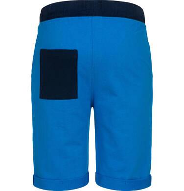 Endo - Krótkie spodenki dresowe dla chłopca, niebieskie, 2-8 lat C05K034_3 6
