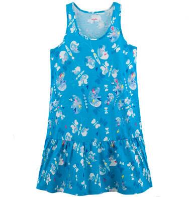 Endo - Rozszerzana sukienka z  falbanką damska Y61H027_1