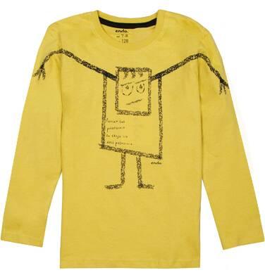 Endo - T-shirt z długim rękawem dla chłopca 3-8 lat C72G059_1