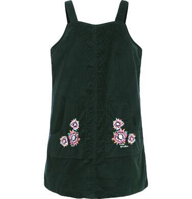 Endo - Sukienka na szelkach dla dziewczynki 3-8 lat D82H016_1