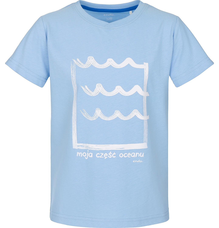 Endo - T-shirt z krótkim rękawem dla chłopca 9-13 lat C91G595_1