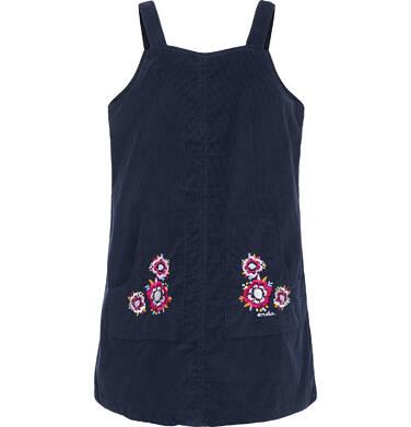 Endo - Sukienka na szelkach dla dziewczynki 3-8 lat D82H016_2