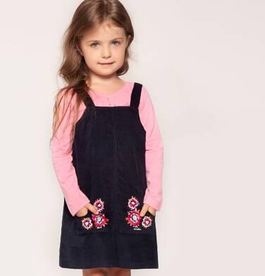Sukienka na szelkach dla dziewczynki 3-8 lat D82H016_2