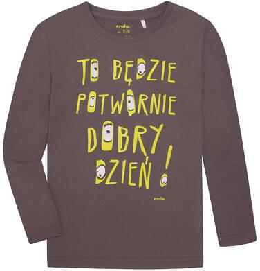 Endo - T-shirt z długim rękawem dla chłopca 3-8 lat C72G061_1