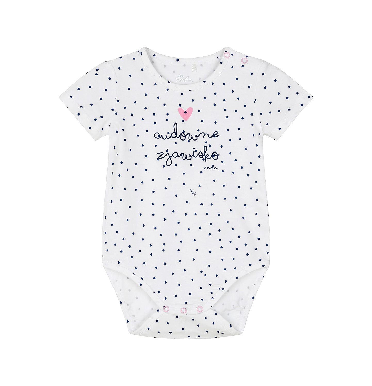 Endo - Body z krótkim rękawem dla dziecka 0-3 lata N91M024_1