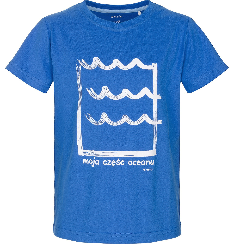 Endo - T-shirt z krótkim rękawem dla chłopca 9-13 lat C91G595_2