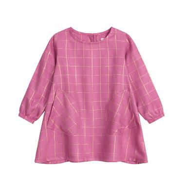 Endo - Sukienka z długim rękawem dla dziecka 0-3 lata N92H015_1
