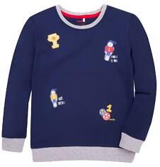 T-shirt z długim rękawem dla chłopca 3-8 lat C72G016_1