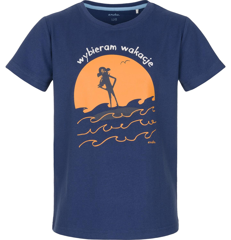Endo - T-shirt z krótkim rękawem dla chłopca 9-13 lat C91G596_1