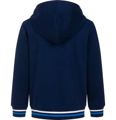 Endo - Rozpinana bluza z kapturem dla chłopca, granatowa 9-13 lat C05C009_1 3