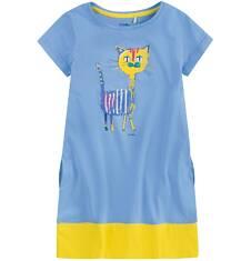 Sukienka trapezowa dla dziewczynki 9-13 lat D71H513_1