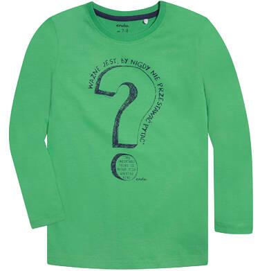 Endo - T-shirt z długim rękawem dla chłopca 9-13 lat C72G642_1