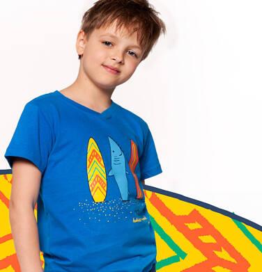 Endo - T-shirt z krótkim rękawem dla chłopca 3-8 lat C91G097_1