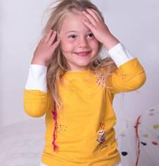 Endo - Bluzka z długim rękawem  dla dziewczynki 3-8 lat D72G069_1