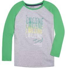Endo - Koszulka z długim reglanowym rękawem dla chłopca 3-8 lat C72G150_1