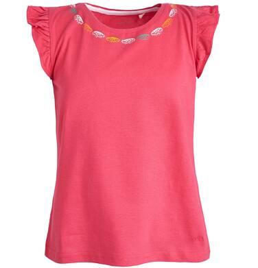Bluzka z krótkim rękawem dla dziewczynki 3-8 lat D81G071_1