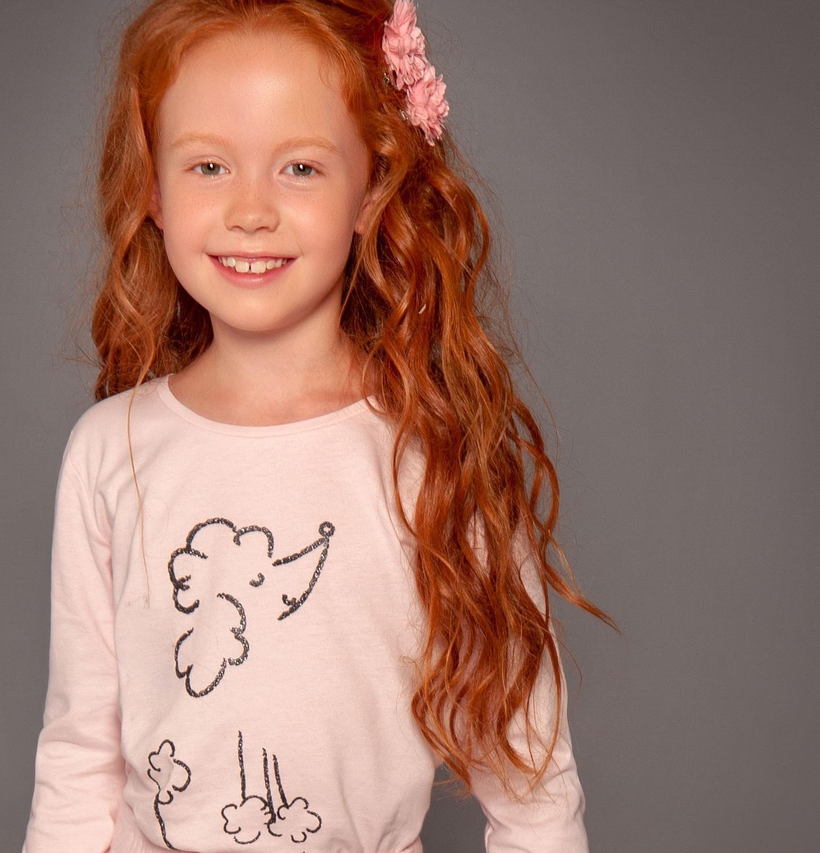 Endo - Bluzka dla dziewczynki 3-8 lat D82G018_1