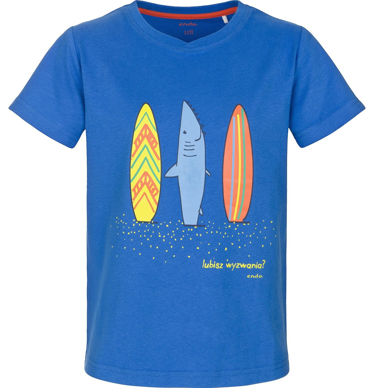 Endo - T-shirt z krótkim rękawem dla chłopca 9-13 lat C91G597_1