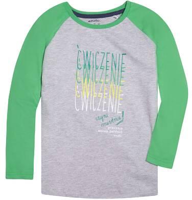 Endo - Koszulka z długim reglanowym rękawem dla chłopca 9-13 lat C72G650_1