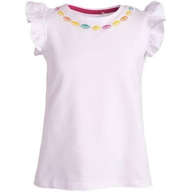 Endo - Bluzka z krótkim rękawem dla dziewczynki 3-8 lat D81G071_2