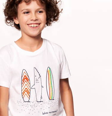Endo - T-shirt z krótkim rękawem dla chłopca 3-8 lat C91G097_2
