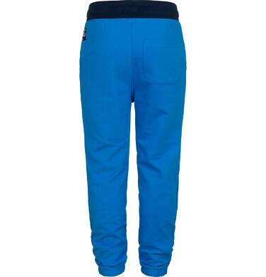 Endo - Spodnie dresowe dla chłopca, niebieskie, 2-8 lat C05K021_1,4