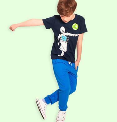 Endo - Spodnie dresowe dla chłopca, niebieskie, 2-8 lat C05K021_1 19