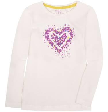 Endo - Bluzka z długim rękawem  dla dziewczynki 3-8 lat D72G078_1